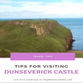 Visiting Dunseverick Castle in County Antrim, Northern Ireland Visiting Dunseverick Castle in Count
