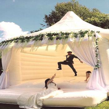 We Have 3 Words For You: Wedding Bouncy Castles!,  We Have 3 Words For You: Wedding Bouncy Castles!