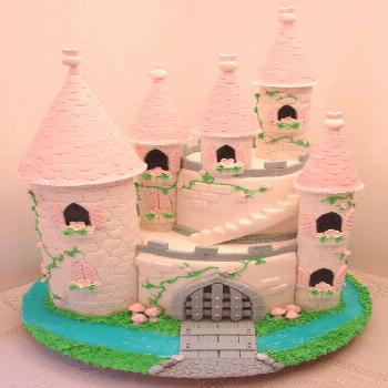 Welcome To Our Castle Castle cake made to welcome our summer visitor.