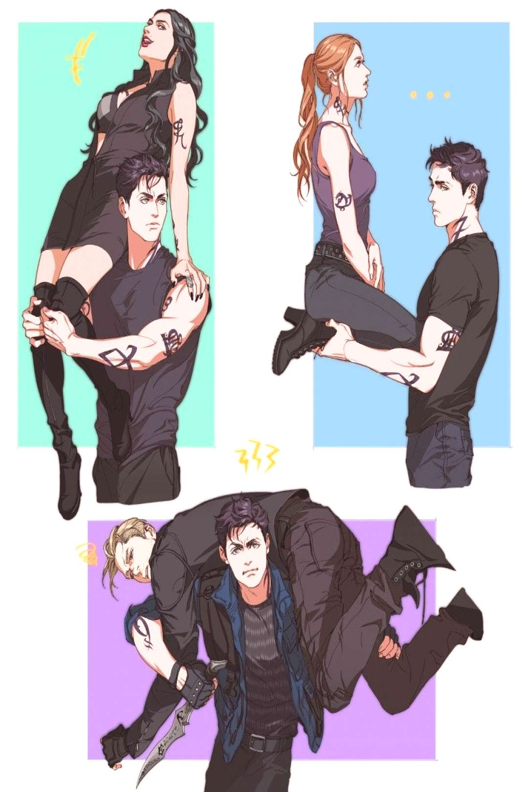 Alec Lightwood being v strong | TMI Shadowhunters