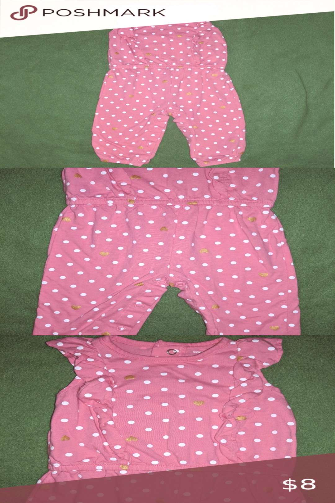 Carters outfit size 6 mos. Carters baby girls outfit size 6 mos. In great condition! No holes, ri