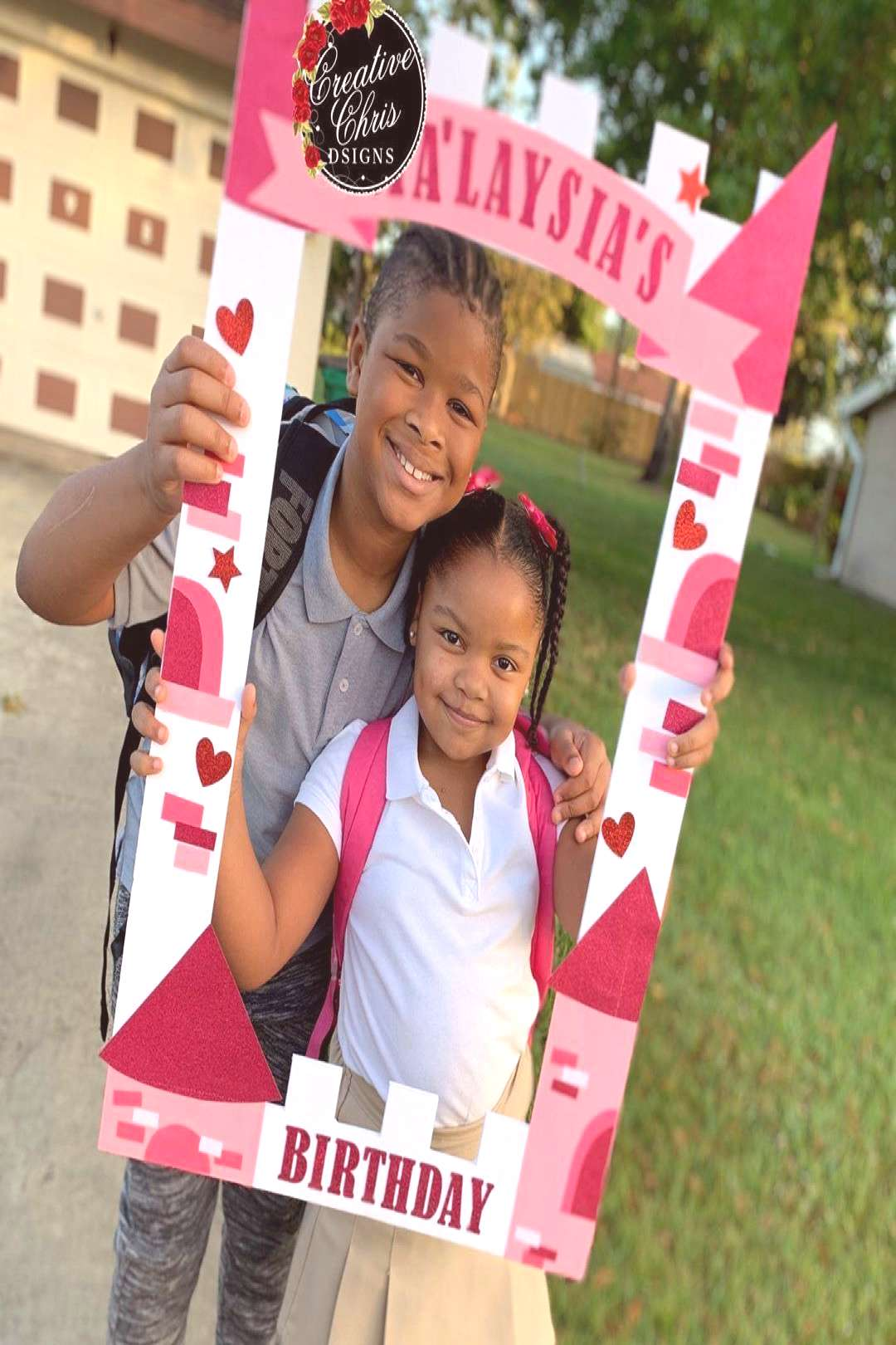 """Creative Chris DSigns LLC on Instagram """"Pink Castles for Princess Ma'Laysia. ANY theme can be"""
