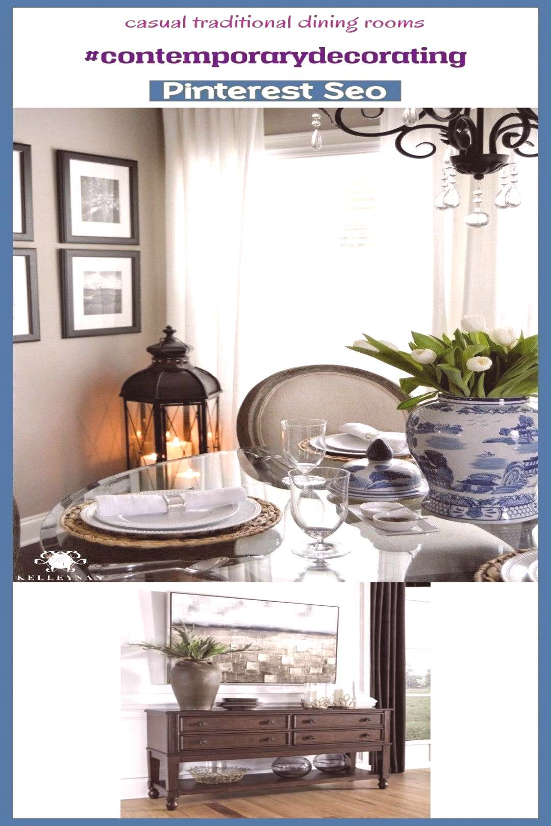 English country decor casual Traditional di...#casual