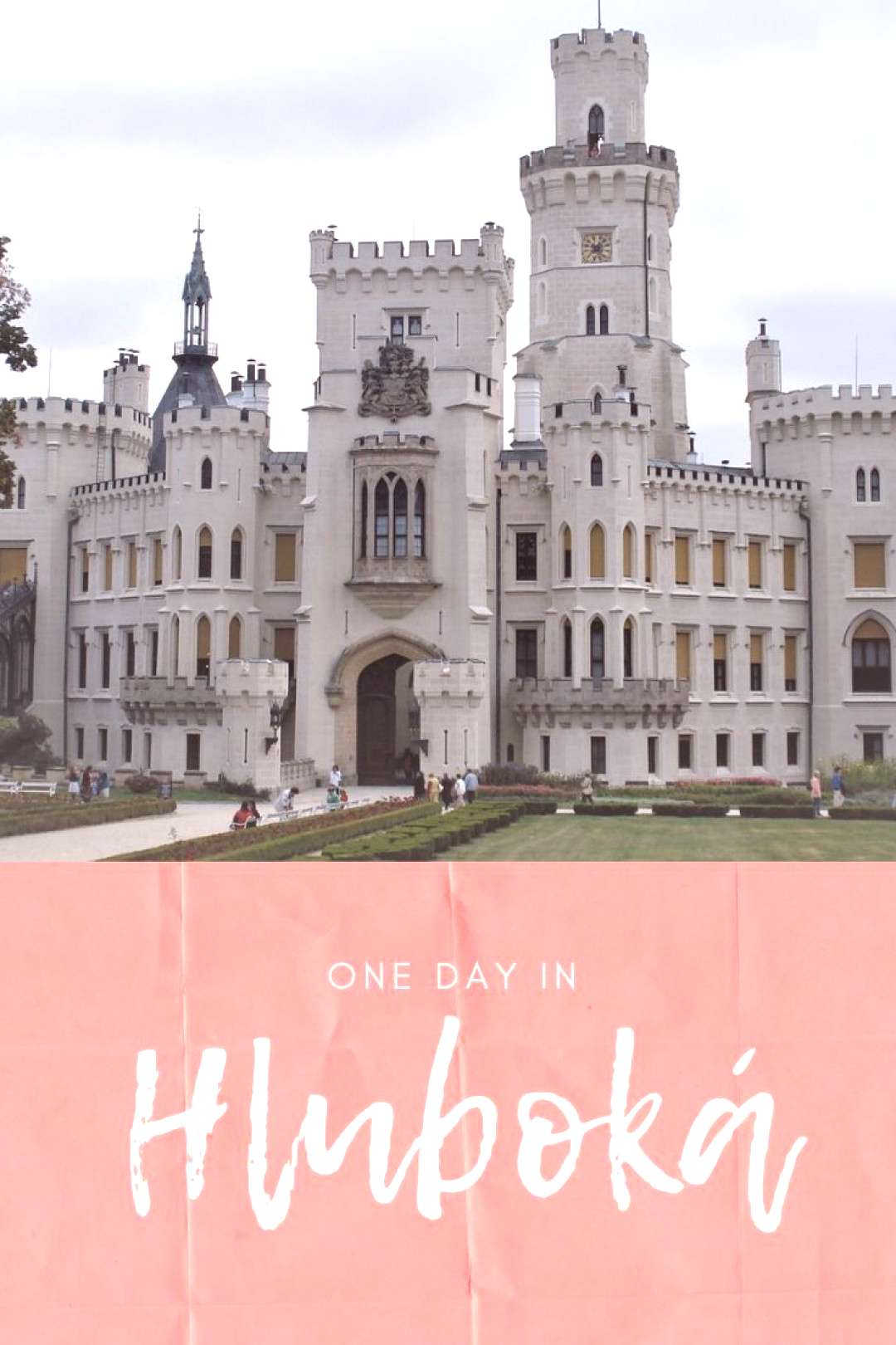 One day in Hluboká Hluboká Castle is like a fairytale. One of the most visited and famous castles