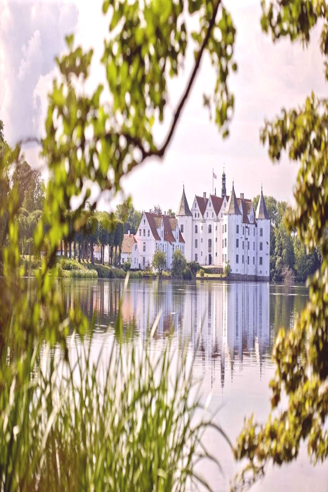 Schloss Glücksburg is counted among the most significant of family seats in Northern Germany. The