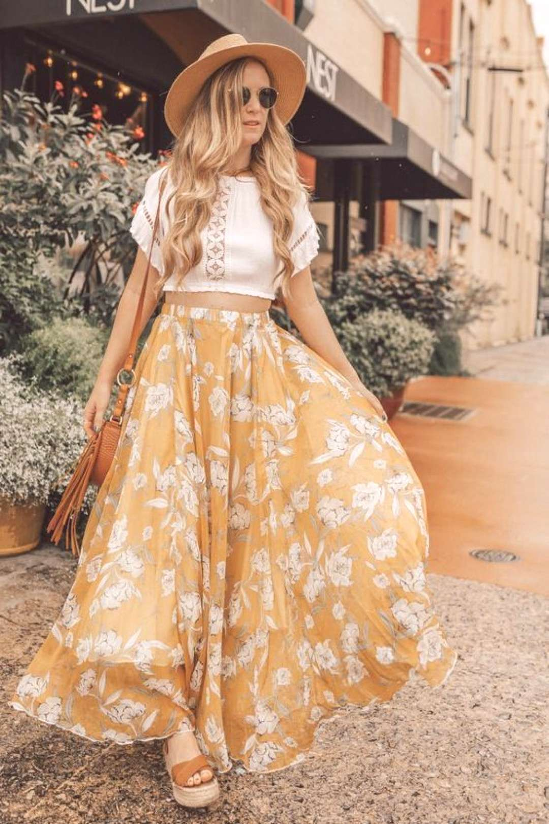 Summer Maxi Skirt Outfit    Source by giraffeabbyevan fashion casual sum... -