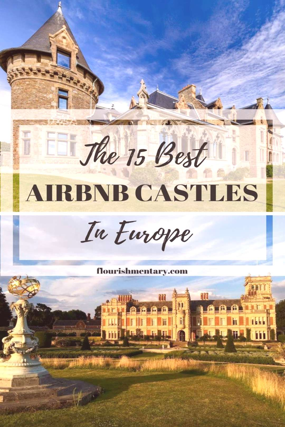 The 15 Best Airbnb Castles In Europe | Flourishmentary -  best airbnb castles europe  -