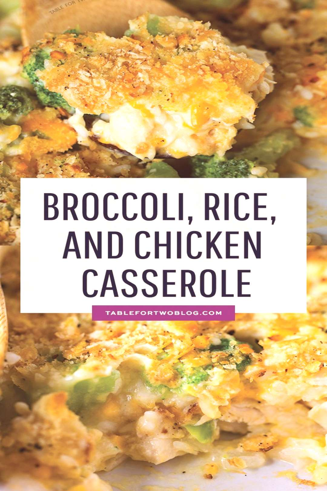 This easy broccoli, rice, and chicken casserole is topped with a buttery Ritz cracker crust. This m