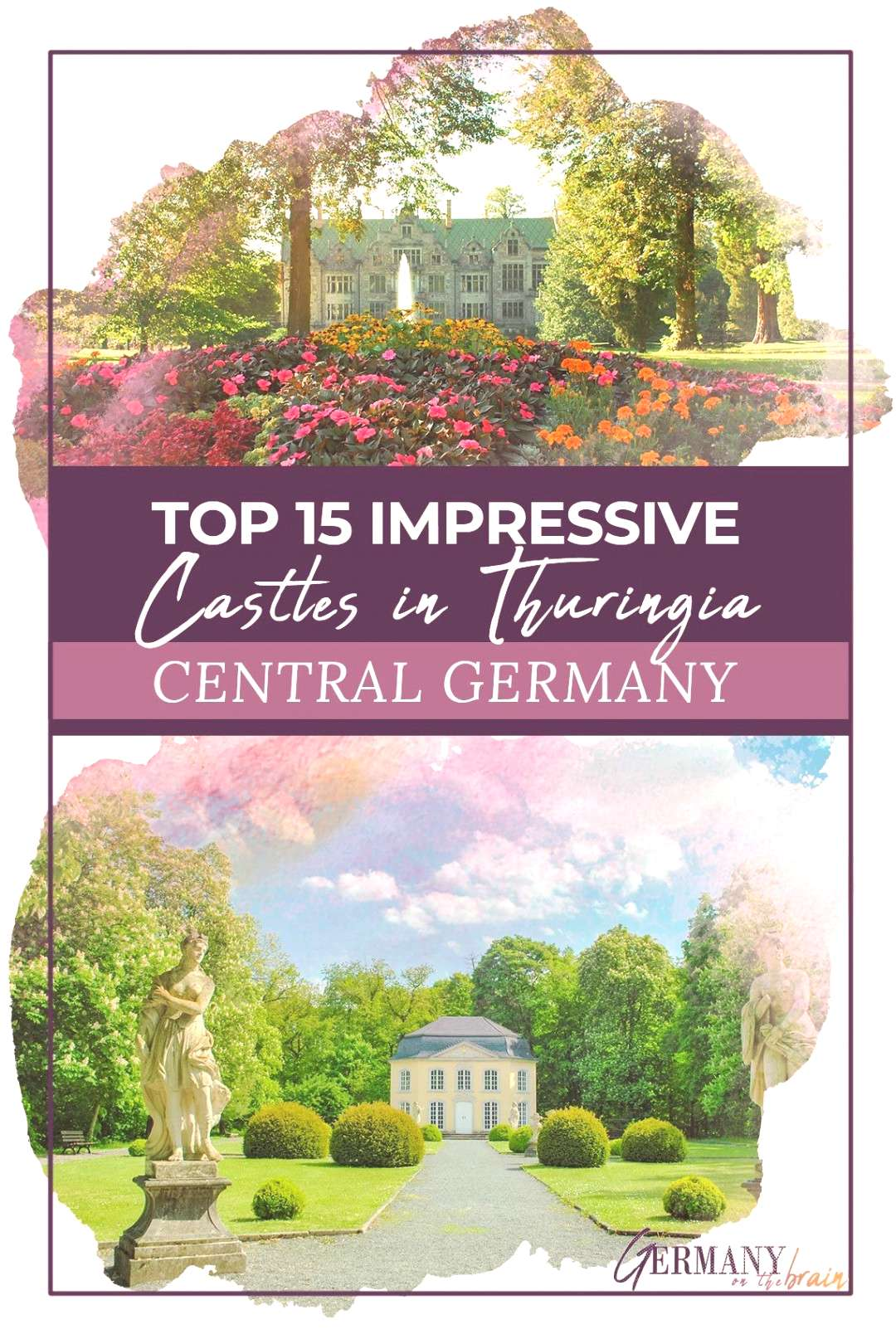 Top 15 Impressive Castles in Thuringia, Germany Germany has tons of castles and the state of Thurin